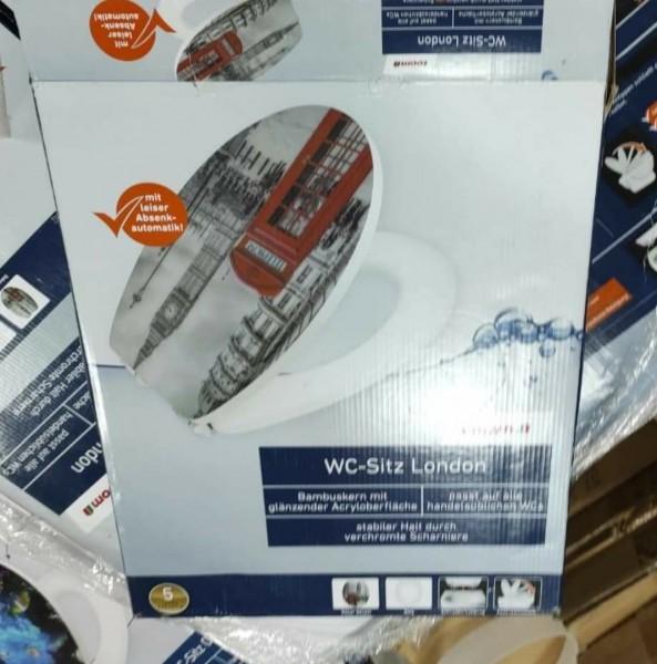 WC Sitz Modell London mit leiser Absenkautomatik