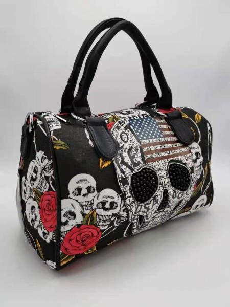 Trendige Skull Tasche